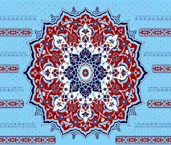 Göbekli ( Kubbe ) Motifli Cami Halısı